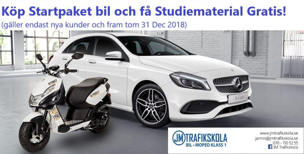 Erbjudande Startpaket Bil